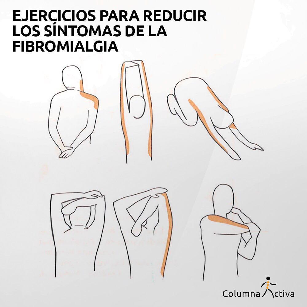 Ejercicios para reducir La Fibromialgia