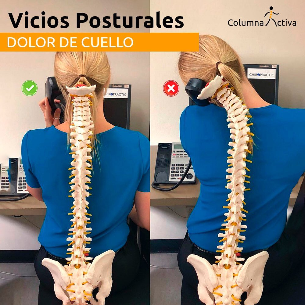 Los vicios posturales