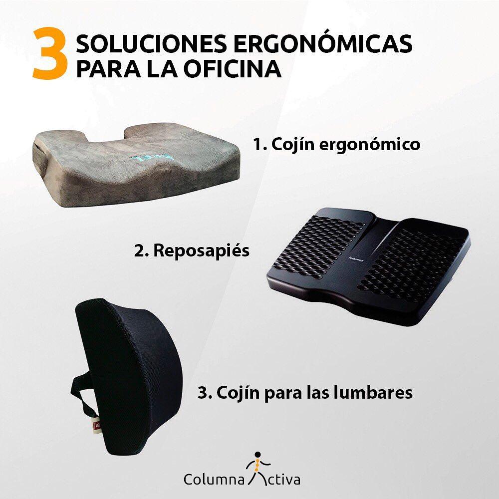 3 soluciones ergonómicas para la oficina