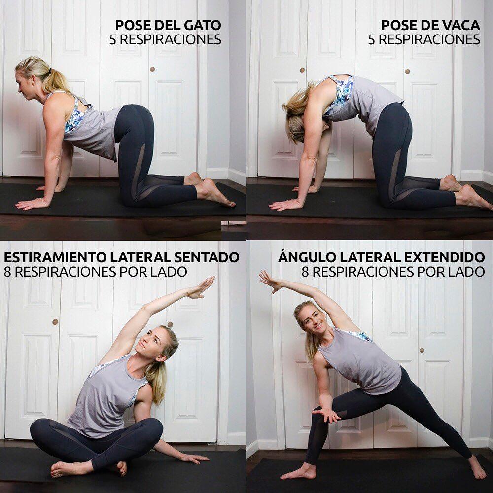 Poses de yoga para una espalda sana