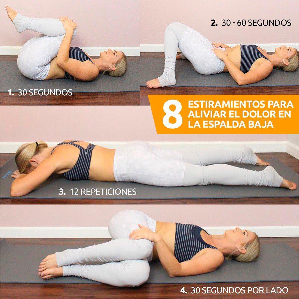 Estiramientos para aliviar el dolor de espalda baja