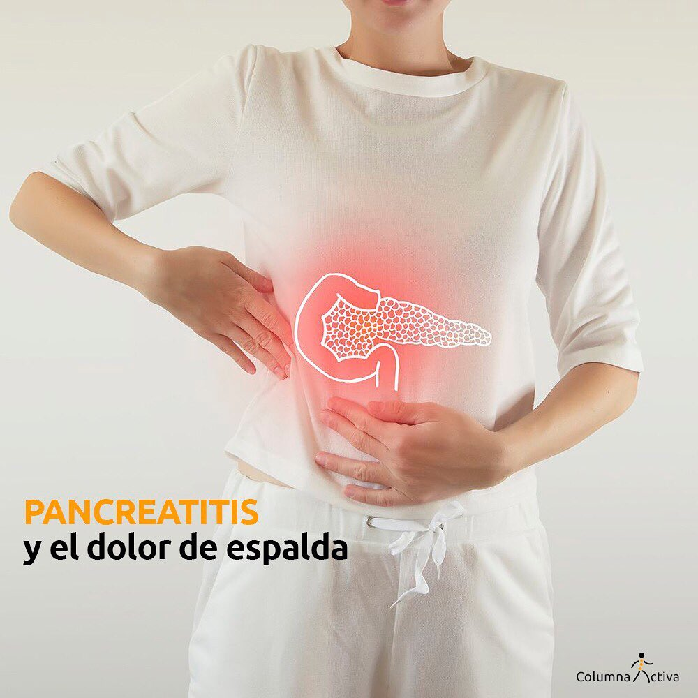 Pancreatitis y el dolor de espalda