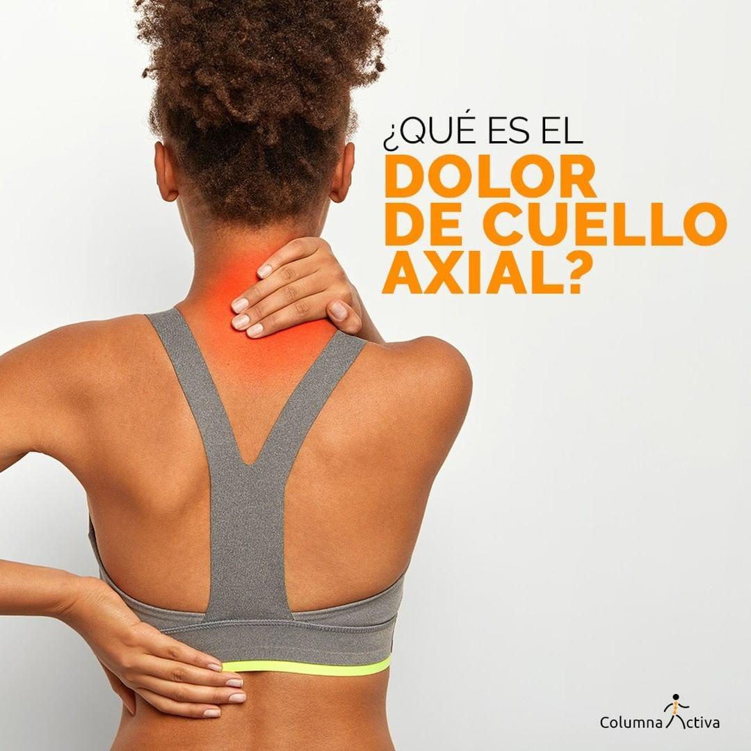Dolor de cuello axial